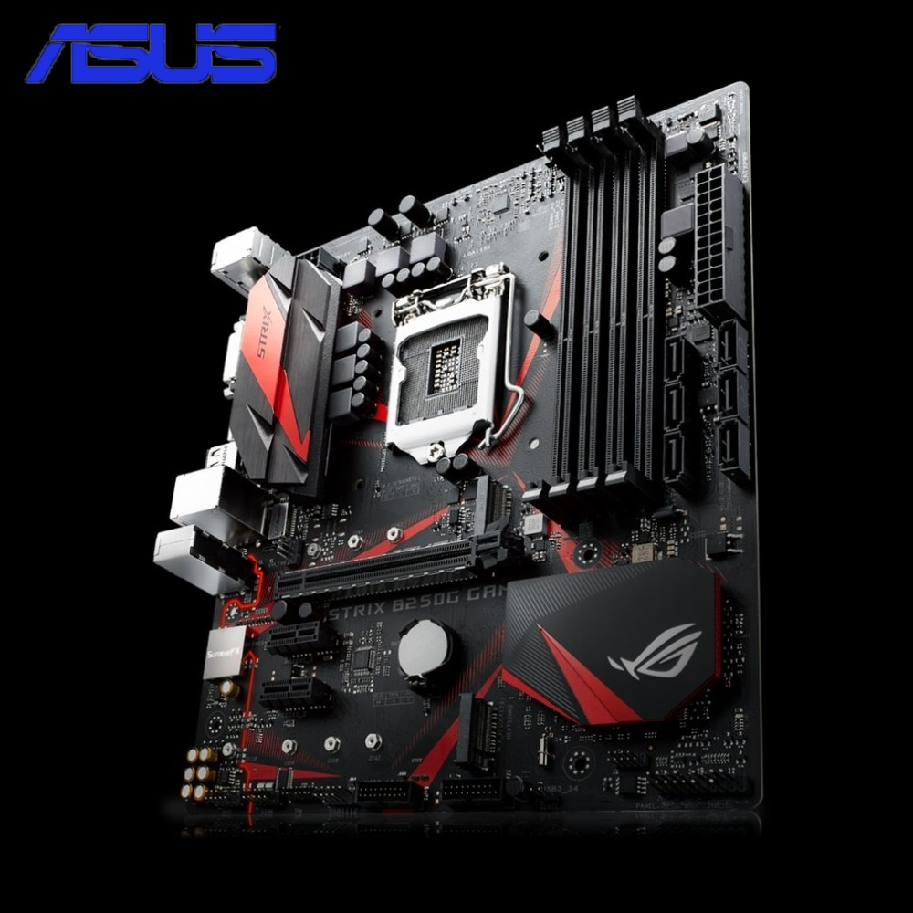 все цены на ASUS ROG STRIX B250G GAMING Desktop Motherboard B250 Socket Mainboard LGA 1151 i7 i5 DDR4 Support 32G SATA3 USB3.0 Micro-ATX онлайн