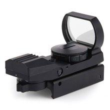 1x22x33 Hunting Holográfica Reflex Red Green Dot Mira Telescópica Sight 20mm A Prueba de Golpes para Rifle de Francotirador escopeta