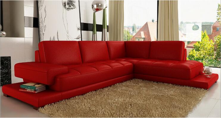 Купить с кэшбэком modern style  living room Genuine leather sofa a1285