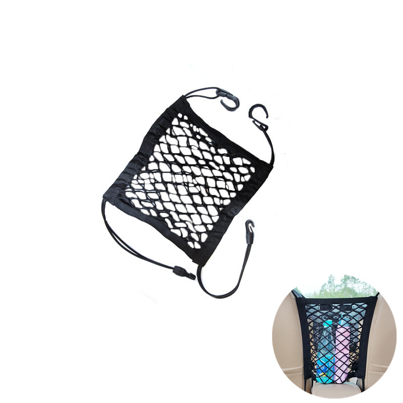 Car Storage Net Organizer Car Styling Stowing Tidying Child Protection Network Block Automobiles Interior Accessories Supplies