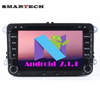HD 1024 600 Screen 2 Din Quad Core 7 Inch Android 4 4 Car Dvd Gps