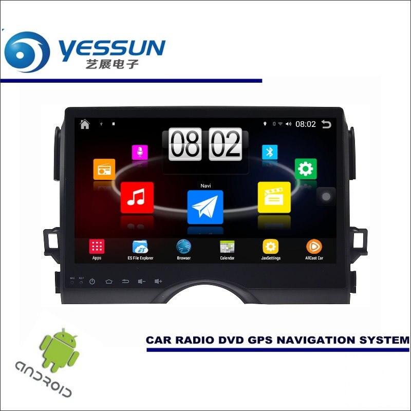 Yessun автомобиля Android мультимедийный плеер для Toyota Reiz 2013 Радио стерео GPS Географические карты nav Navi Навигация (без cd dvd) 10.1 HD Экран