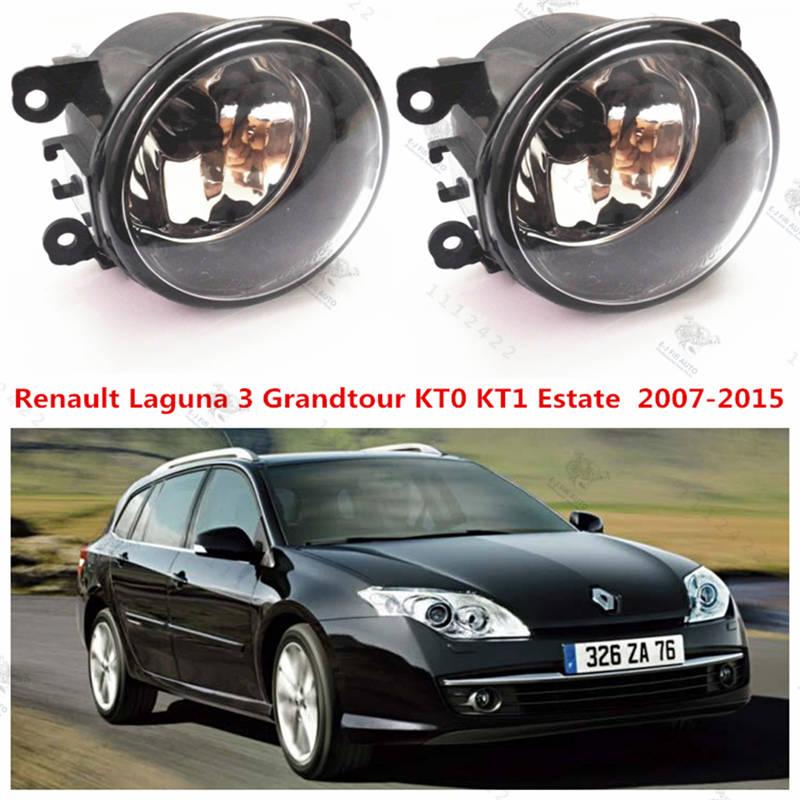 For renault LAGUNA 3 Grandtour  2007-2015  Front bumper fog lamps Original  Fog Lights Halogen car styling  35500-63J02