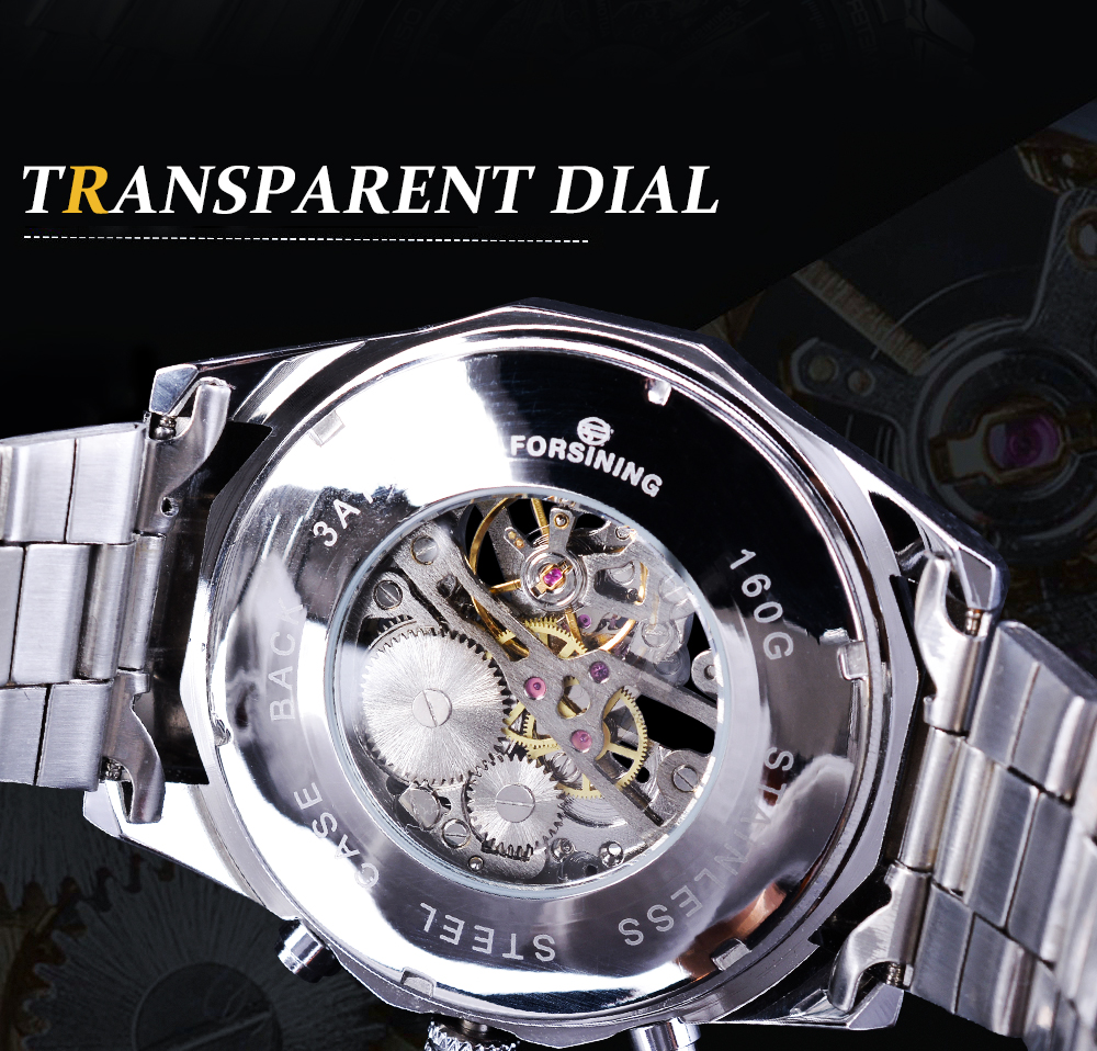 HTB1D4joOmzqK1RjSZFHq6z3CpXaR Forsining 2019 Stainless Steel Waterproof Mens Skeleton Watches Top Brand Luxury Transparent Mechanical Sport Male Wrist Watches