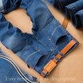 2017 Sulee Diseño Clásico de la Marca Famosos Vaqueros Hombres de Marca de Algodón Moda Denim Jeans Para Hombre Slim Fit Alta Calidad Recta Italiano