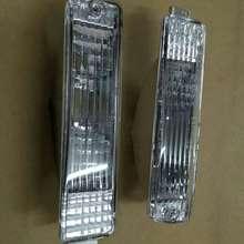 Прозрачный большой бампер передний указатель поворота светильник для Фольксваген Гольф MK2