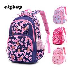 Children Backpacks For Teenagers Girls Waterproof School Backpack Book Bags Kids Child Orthopedics Schoolbags Boys Grades