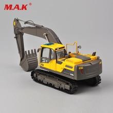 Коллекция литье под давлением EC220D 1/50 Diecase желтый гусеничный экскаватор модель игрушки инженерные модели транспортных средств