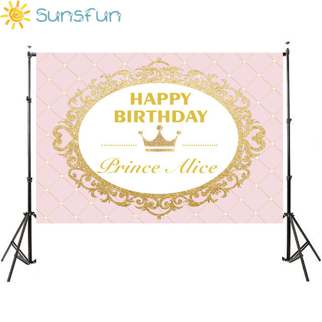 Sunsfun 7x5ft princess party pink gold glitter birthday invitation sunsfun 7x5ft princess party pink gold glitter birthday invitation celebration party table dessert background 220x150cm stopboris Image collections