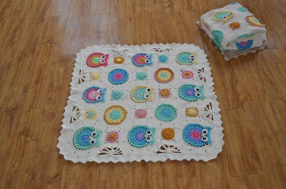 Envío Gratis 2014 nueva manta del bebé del ganchillo del algodón con ...