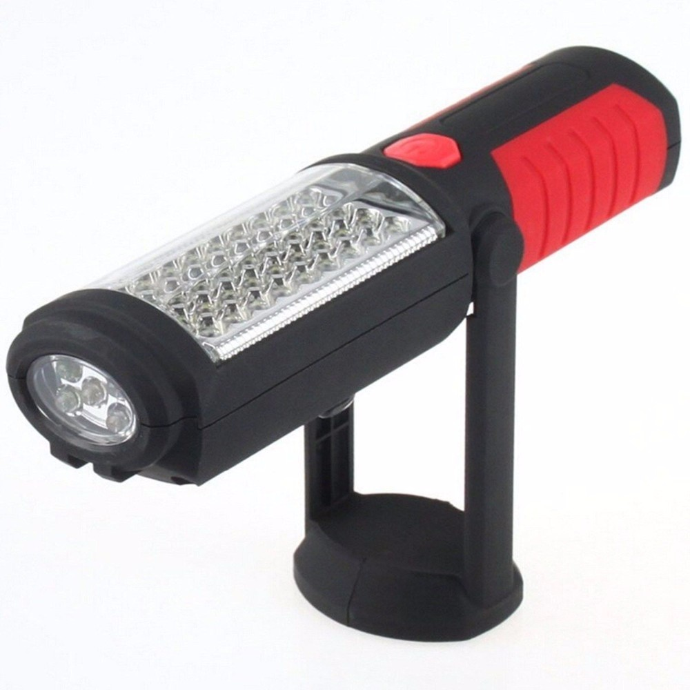 Вандер супер яркий новый 36 + 5 LED гибкие руки факел для работы света Магнитный контроль лампы фонарик факел Батарея питание