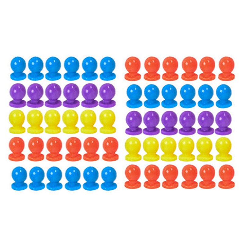 12balloon/set 7color The Oonies Bubble Ball Game Play Set Only Fitting Balloon Beads Kids Funny Table Game Toy