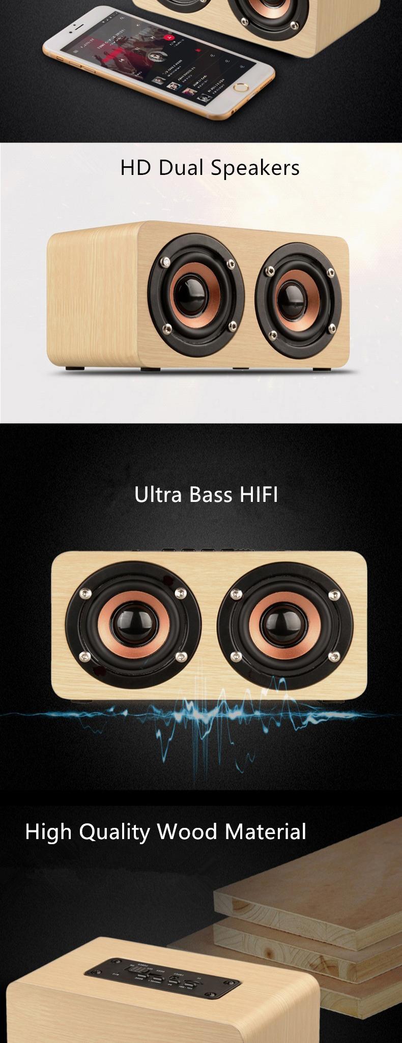 Wood Bluetooth Speaker (3)