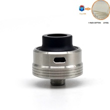 цены на Electronic Cigarette ULTON tab style RDA 22mm Cotton/mesh wick Top fill Rebuildable Dripping Atomizer For 510 thread vape mod  в интернет-магазинах