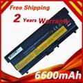Batería del ordenador portátil para lenovo 42t4235 asm 42t4752 thinkpad e50 l410 l412 L420 L510 L520 T410 T410i T420 T510 T510i T520 W510 W520