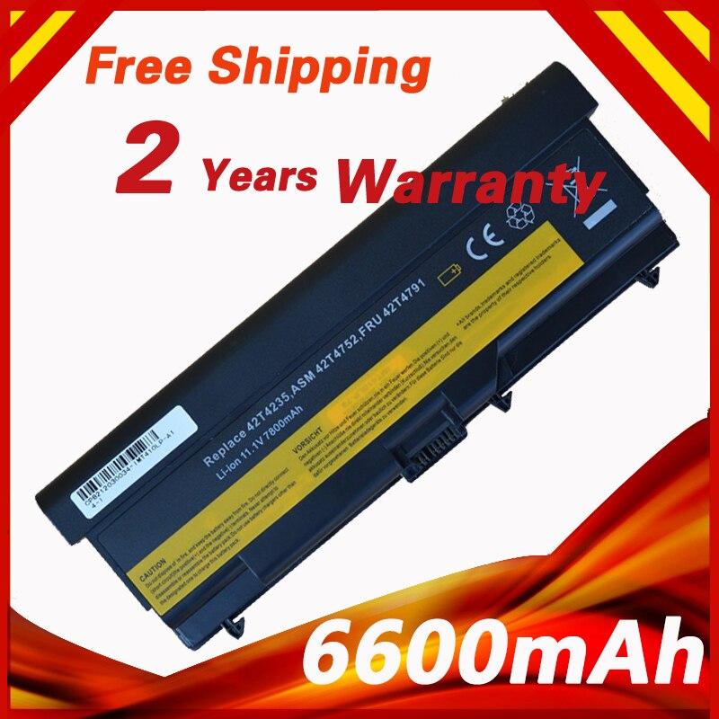 Batteria del computer portatile per lenovo 42t4235 asm 42t4752 thinkpad e50 l410 l412 L420 L510 L520 T410 T410i T420 T510 T510i T520 W510 W520