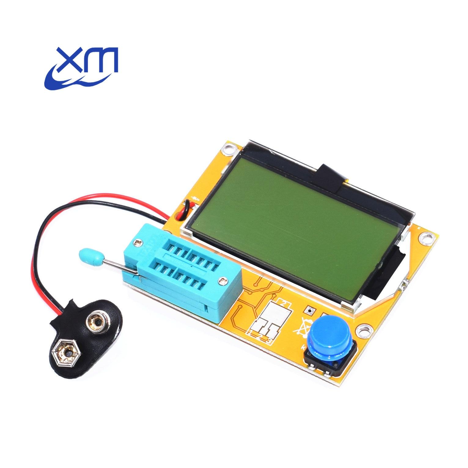 10pcs LCR T4 12846 LCD M328 Digital Transistor Tester Meter Backlight Diode Triode Capacitance ESR Meter