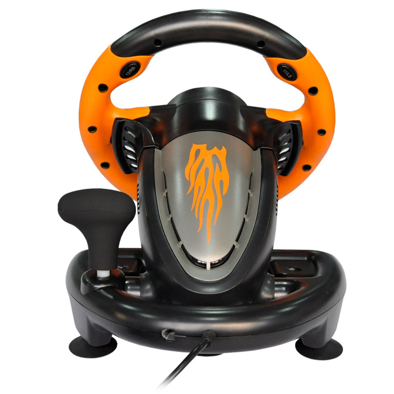 New Racing Steering Wheels With Pedals For Pc Racing Car