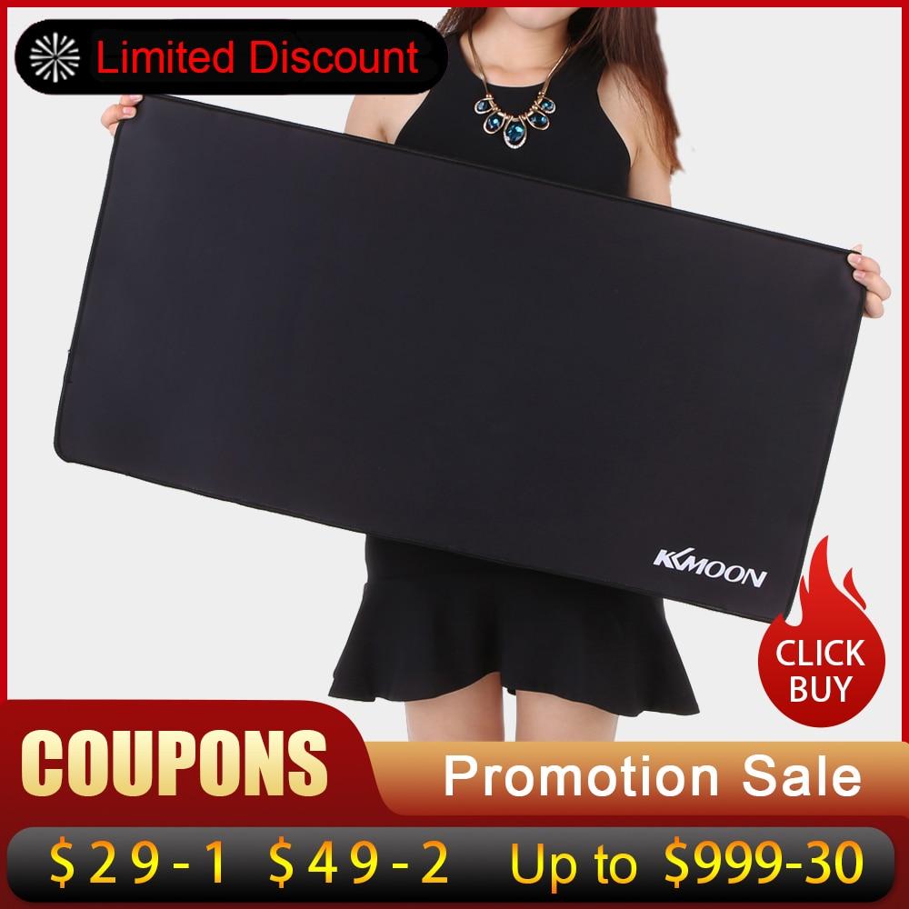 KKmoon Große Größe maus pad Anti-slip Natürliche Gummi PC Computer Gaming mauspad Schreibtisch Matte für LOL überraschung cs gehen overwatch DOTA2