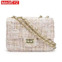 Magicyz mulheres sacos de lã marca de luxo bolsas femininas designer crossbody saco bolsa de ombro bolsa embreagem sac a principal