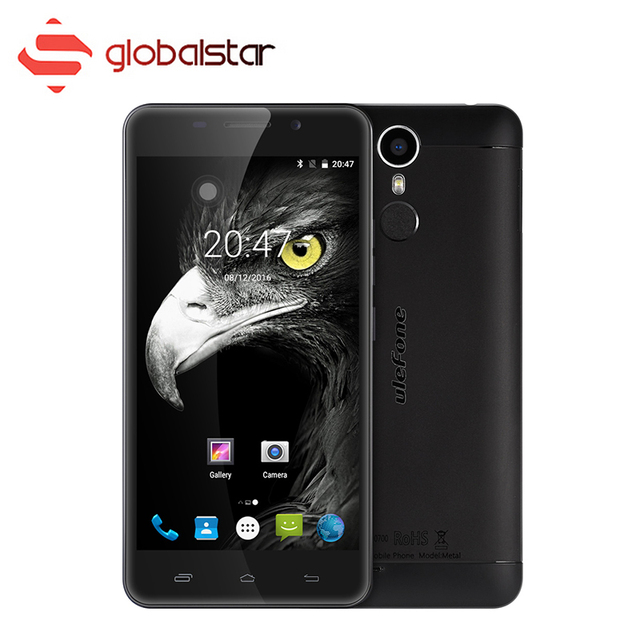 Ulefone Metal Android 6.0 Cellphone MT6753 Octa Core 5.0 Inch 3G RAM 16G ROM Smartphone 4G Fingerprint HD Dual SIM Mobile Phone