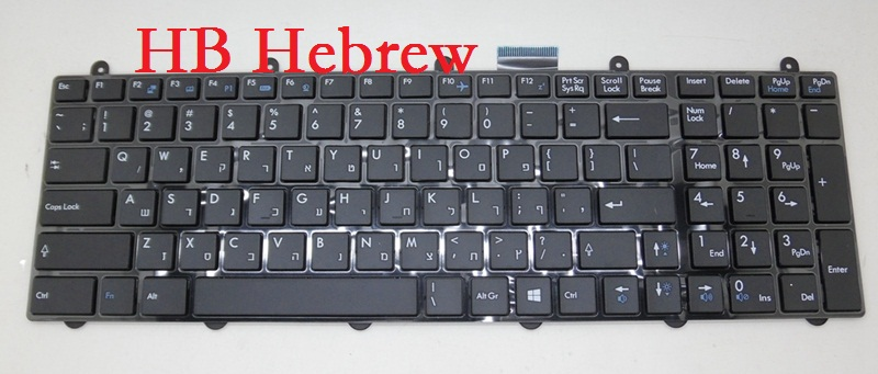 Laptop Keyboard for MSI GE70 0ND 2OC 2OD 2OE 2PC 2PE 2PL 2QD 2QE AR Arabic BE Belgium CZ Czech HB Hebrew IT Italian KR Korean laptop keyboard for acer silver without frame arabic ar v 121646cs2 ar aezqsq00110