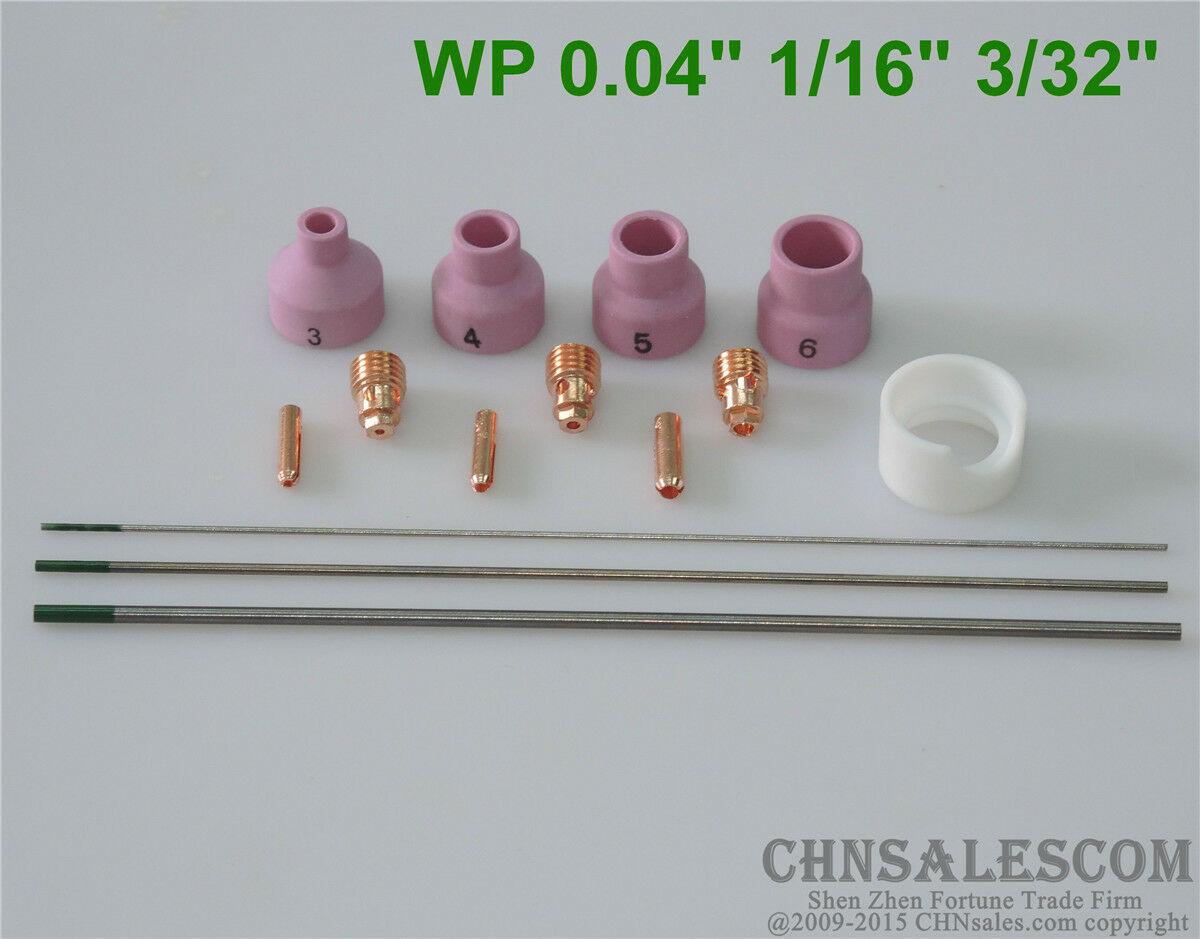 "10 pcs #3 53N23  Alumina Nozzle Cups for WP-24 4.0mm 1//6/"""