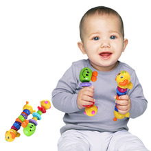 Cute Amimal Silicone Infant Teether font b Toys b font Toothbrush Environmentally Safe Teething Ring 0