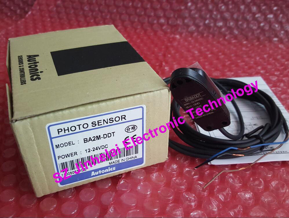 BA2M-DDT-P, BA2M-DDT   AUTONICS  New and original   PHOTO SENSOR  12-24VDC 100% new and original fotek photoelectric switch a3g 4mx mr 1 free power photo sensor