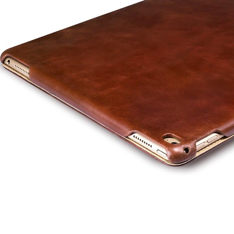 İPARER Vintage seriyası, iPad Pro 12.9 üçün lüks orijinal dəri - Planşet aksesuarları - Fotoqrafiya 6