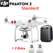 Rc plane DJI Phantom 3 Standard Quadcopter  drones with camera hd Camera buildin GPS system + Extra Battery + Hardshell Backpack