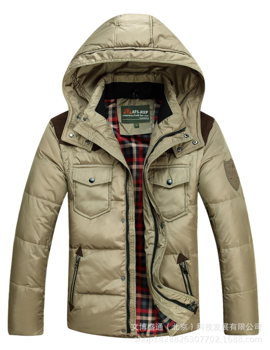 58c1880606c 2015 New Mens Winter Down Jacket Fashion Hooded Winter Jackets For