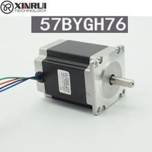 57 шаговый двигатель/57BYGH76/76 мм/3A 1.8N.m/высокий крутящий момент/гравировальный станок/станки с ЧПУ