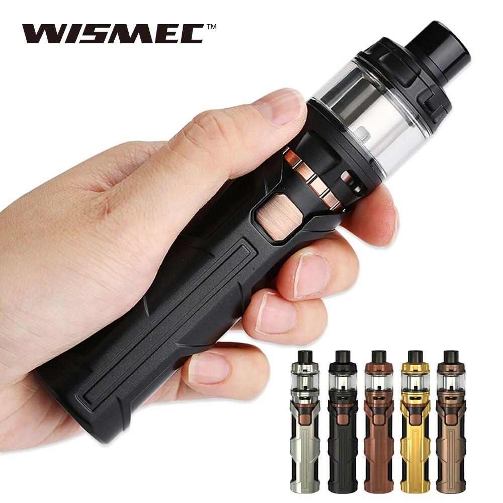Kit d'origine 50 W WISMEC sinueux SW 3000 mah avec réservoir Elabo SW 4 ml/2 ml E-cigarette Wismec Kit de Vape sinueux SW par batterie 3000 mah