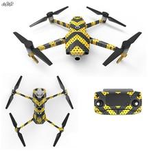 Drone кожи тела стикеры 3М наклейки Батарея наклейка удаленного контроля для DJI Мавик 2 pro увеличить drone аксессуары