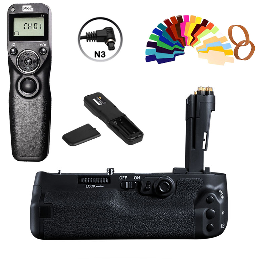 Wired Timer Remote Controls T3-n3 For Canon 5d Mark Iv Camera Motivated Pixle Vertax E20 Vertical Battery Grip Holder Camera & Photo Accessories