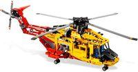 Gạch Toy gạch Trung Quốc nhãn hiệu 3357 Tương Thích với Lego Kỹ Thuật Máy Bay Trực Thăng 9396