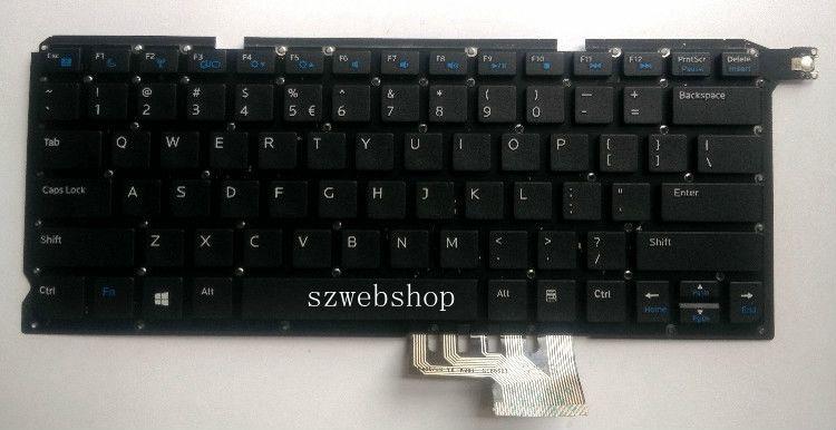 """New Dell Vostro 5460 V5460 5470 V5470 5480 V5480 14-5439 US Black Keyboard 14/"""""""