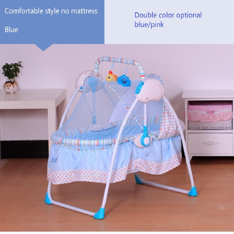 Newborn Sleeping Bed Primi Electric Cradle Baby Shaker Rocking Bed primi baby electric rocking chair baby cradle bed crib