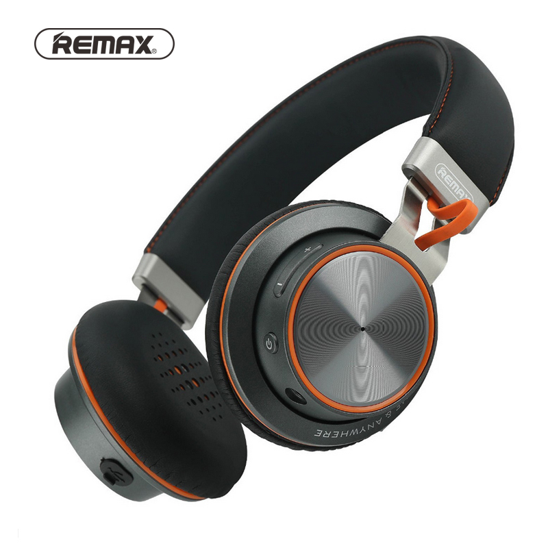 Remax Bluetooth Headphones Foldable Active Noise Cancelling Wireless Earphones with mic for iPhone samsung huawei xiaomi Sony