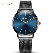 OLEVS Ladies watches 2017 luxury brands rosefield Women's watches quartz watch Stainless steel mesh bracelet relogio feminino NE