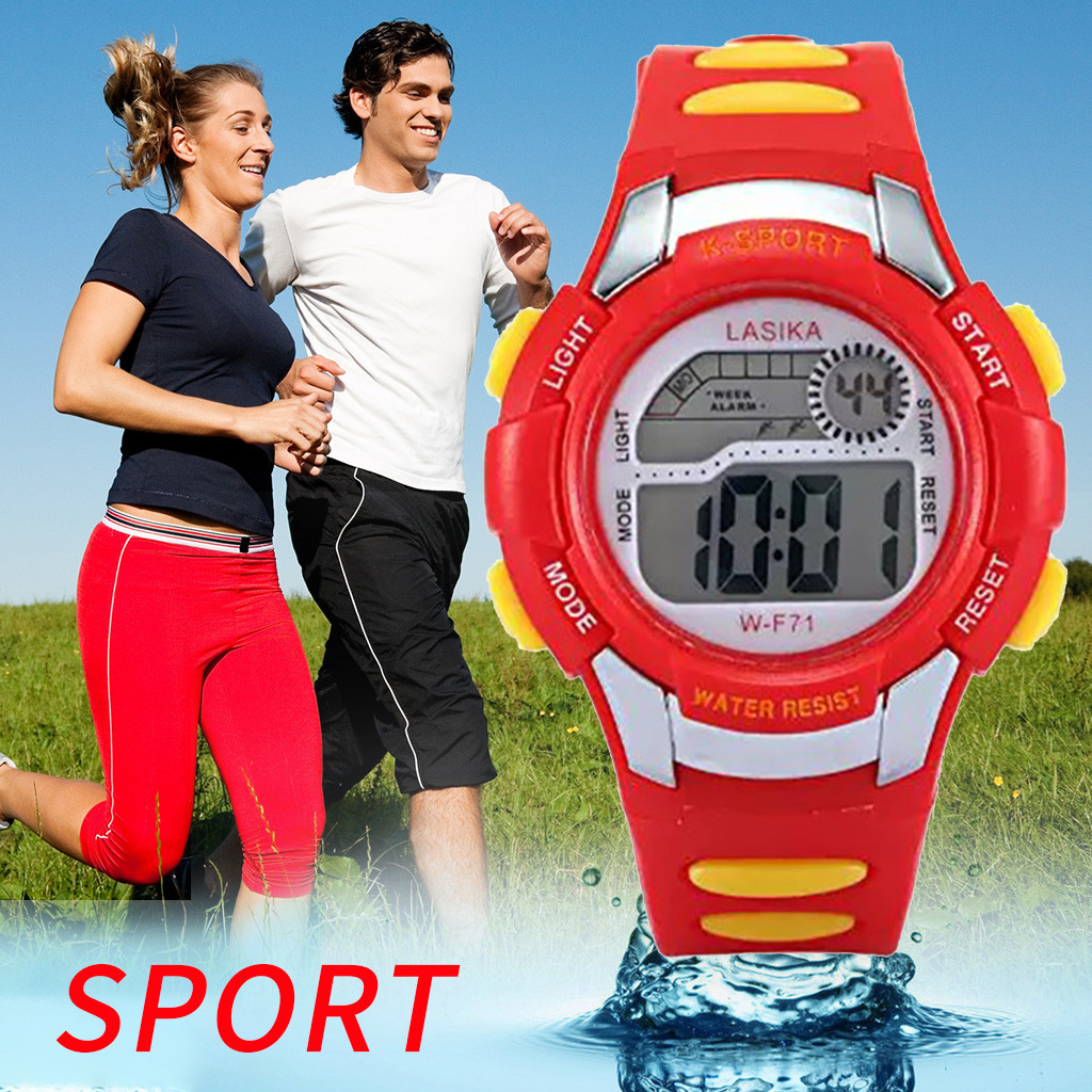 children's watch Multi Function Alarm Clock Student Waterproof Sports Fashion Electronic Watch girls watches kids