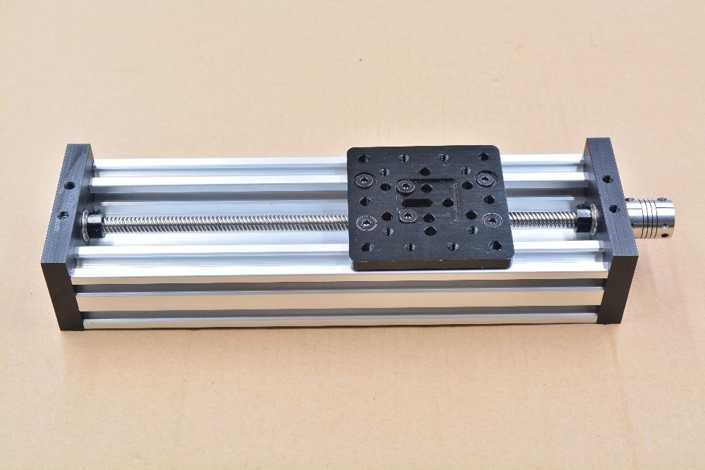 Imprimante 3d axe Z bricolage c-beam CNC table coulissante vis à tête voyage 1000mm T8 8mm ensemble de kit actionneur linéaire