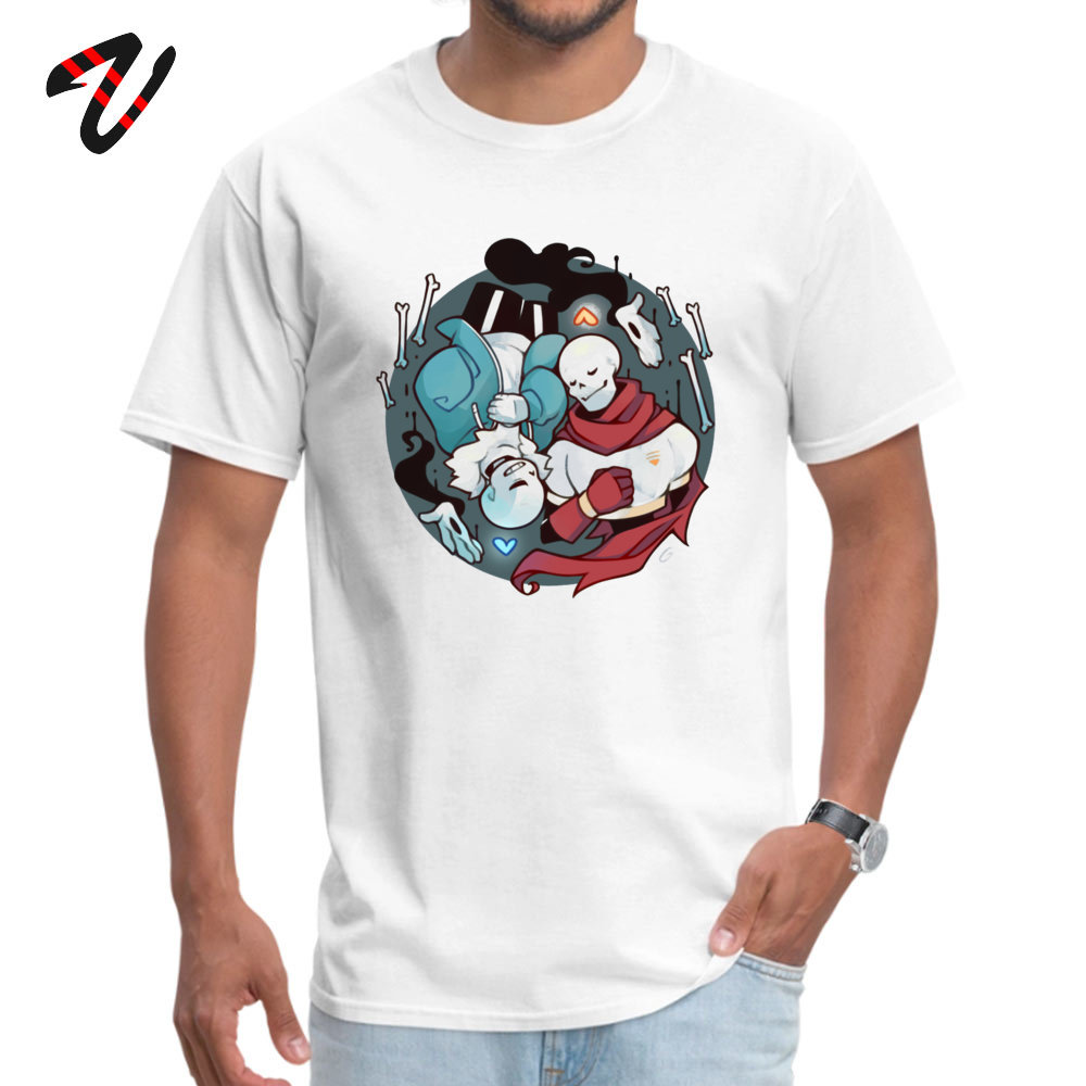 rest T-Shirt Short Sleeve Simple Style High Quality Men's VALENTINE DAY T Shirt Simple Style T-Shirt O Neck All Cotton rest -23293 white