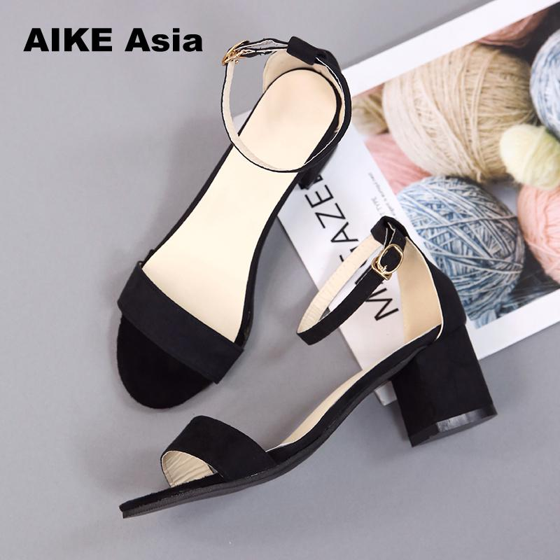 Hot Summer Women Shoes Pumps Dress Shoes High Heels Boat Shoes Wedding Shoes Tenis Feminino  With Peep Toe Sandals  Casual 997
