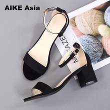 Hot Summer Women Shoes Pumps Dress Shoes High Heels Boat Shoes Wedding Shoes Tenis Feminino With Peep Toe Sandals Casual 997(China)