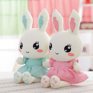 40CM Cute Wearing Dress Rabbit