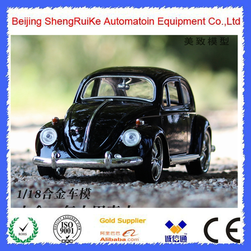 1:18 beetle bubble car model Diecast Vintage Classic Cars Alloy Toys Boys Toys Desktop model  Excellent birthday Gifts stels beetle 1