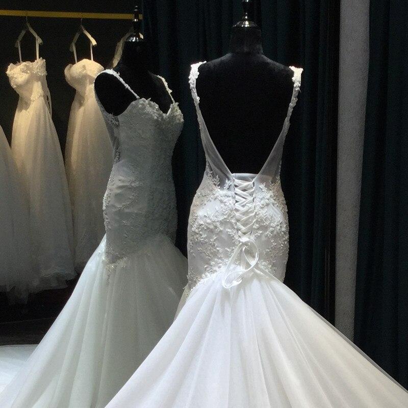 Vestido De Noiva Lace Mermaid Bröllopsklänningar 2017 Sweetheart - Bröllopsklänningar - Foto 2