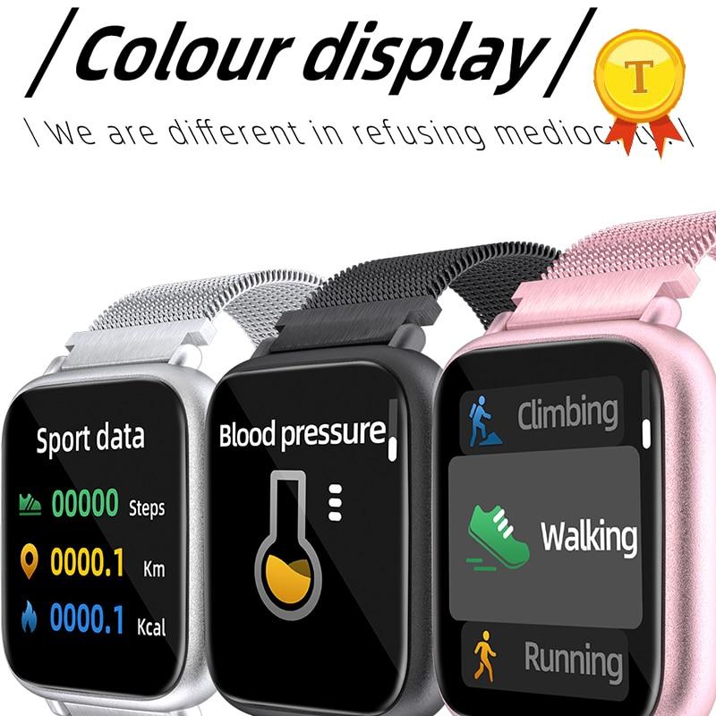 2019 Colour display smart band big screen blood pressure monitoring bluetooth 5.0 technology sports smart bracelet wristband